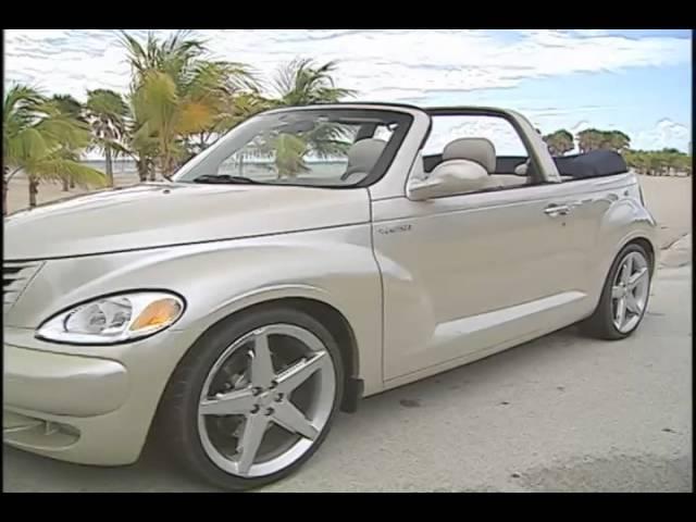 Chrysler Pt Cruiser Convertible Youtube