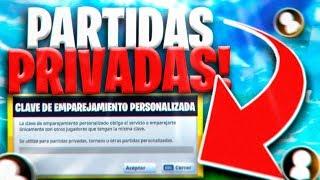 🔴 JUGANDO *PARTIDAS PERSONALIZADAS* de FORTNITE CON SUSCRIPTORES! Código: imloskiss