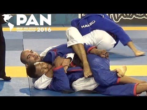 Bernardo Faria vs Timothy Spriggs / Pan Championship 2016