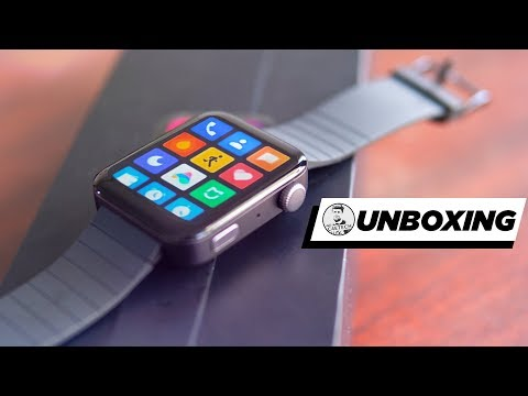 Xiaomi Mi Watch Hands On - Apple Watch, The Budget Edition!