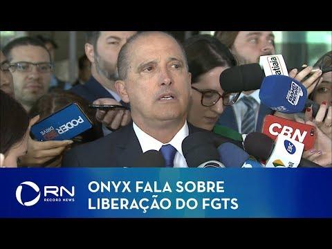 Veja o video Onyx fala sobre liberação do FGTS