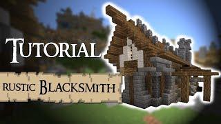 minecraft medieval blacksmith rustic tutorial designs minecraftserversview castle