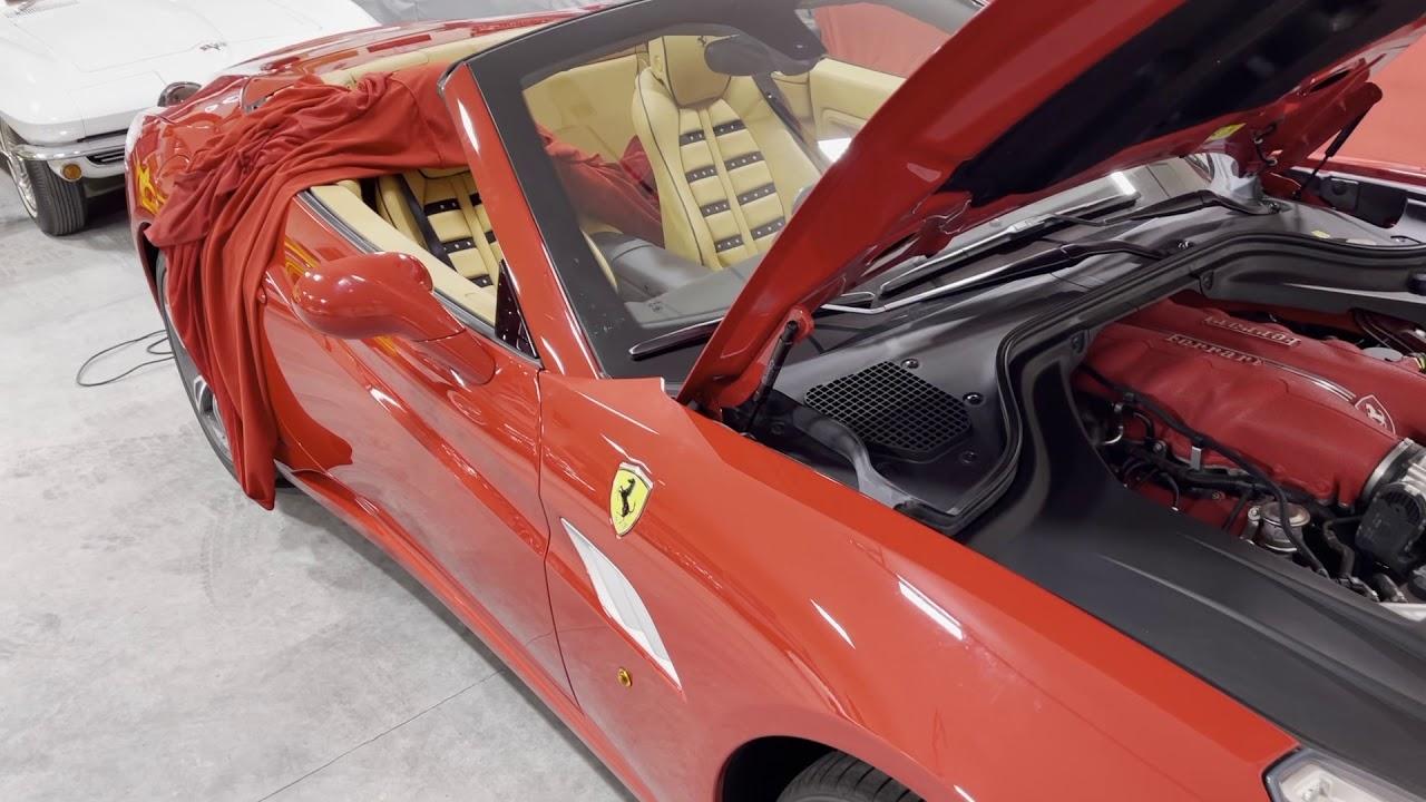 Battery Change On My Bosses Ferrari California Youtube