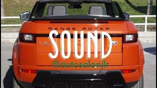 RR Evoque Convertible '16 Si4 HSE Dynamic || Sonido motor & escape