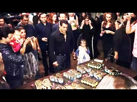 (VIDEO) Salman Khan's 51st GRAND Birthday Celebration With Family & Friends At Panvel Farmhouse