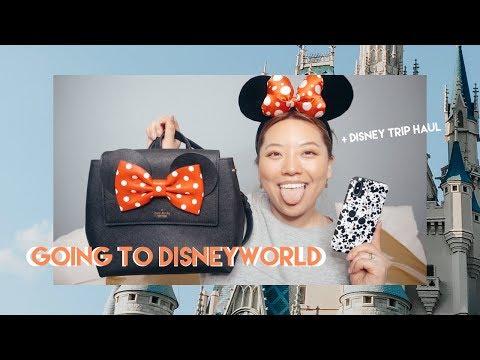 I'm Going To Disneyworld + Disney Trip Haul | Jennifer Chung