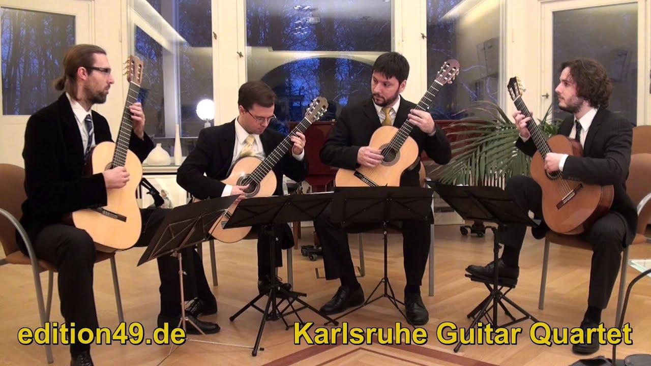 telemann concerto d dur major 4 guitars vier gitarren karlsruhe guitar quartet youtube. Black Bedroom Furniture Sets. Home Design Ideas