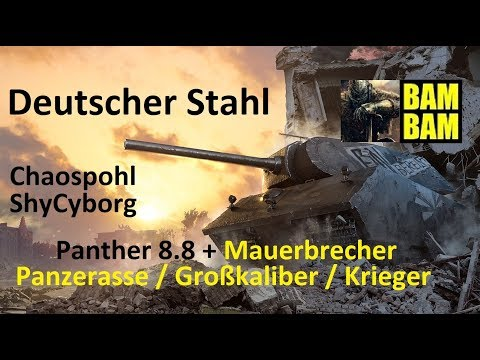 World of Tanks Gast-Replay 0256 (deutsch)  Deutscher Stahl 1
