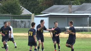 Ryan LaRocca heads in the equalizer