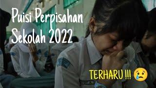 PUISI PERPISAHAN SEKOLAH - SELAMAT TINGGAL SAHABATKU || Chairil Anwar