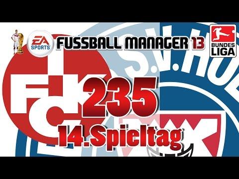 Fussball manager lets play 235 14 spieltag  1 fc kaiserslautern fm lp 2014 karriere