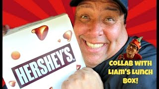 Pizza Hut® Hershey s Hot Chocolate Brownie Review w/Liam s Lunch Box!