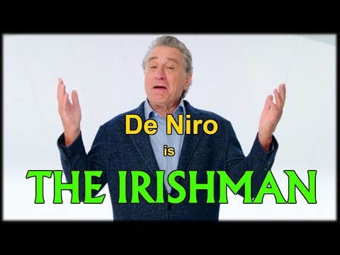 The Irishman is De Niro's Toughest Role  | Interview