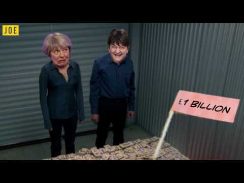 Theresa May does £1bn deal with DUP - turns out there was a magic money tree after all
