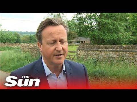 """""""I feel desperately sorry"""" David Cameron on May's resignation"""