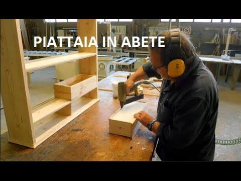 Costruire Una Piattaia Legno.Piattaia In Abete Tutorial Guida Fai Da Te Come Fare Wood Porta