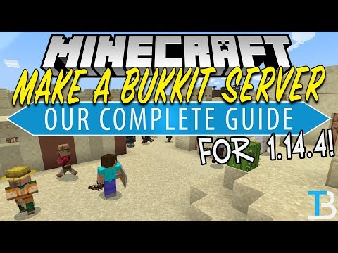 how-to-make-a-bukkit-server-in-minecraft-1.14.4