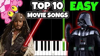 Download lagu Top 10 Movie Songs To Play On Piano [Easy Piano Tutorial]