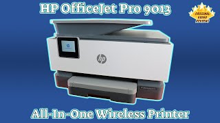 HP OfficeJet Pro 9013 All-in-One Printer Review