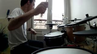 ► Circus Maximus - Game Of Life (HD drum cover)