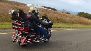 Motorcycle Ride on Skyline Drive Virginia 2014