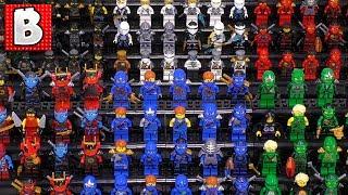 Every LEGO Ninjago Ninja Ever Made!!! Zane Jay Lloyd Kai Nya Cole