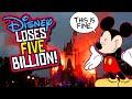 Disney Loses $5 BILLION in Q3! Mulan Goes VOD! Will Disney World LAYOFFS Follow?