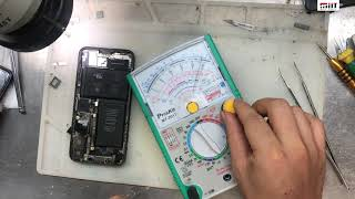 hướng dẫn sửa iphone X liệt cảm ứng / how to fix iphone x touch screen not working