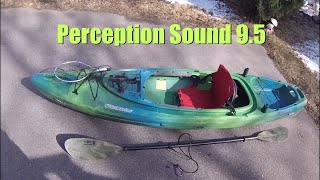 Perception Sound 9.5 kayak owner review + fishing modifications