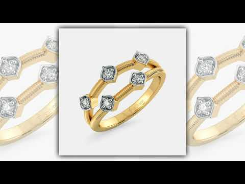 simple gold ring designs for women /Latest ring designs for daily wear