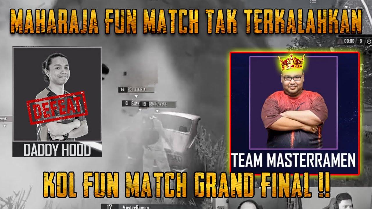 Master Ramen Berjaya Rebut Tahta Raja FUN MATCH Menang 2-0 Dari Daddy Hood | PUBG Mobile Malaysia