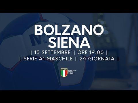 Serie A1 Maschile [2^ giornata]: Bolzano - Siena 32-26