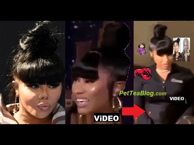 Barbz Call Out Nicki Minaj for Copying Lil Kims Bun & Shes PREGNANT (Video)