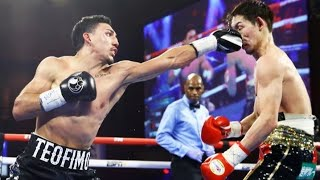 Teofimo Lopez vs Masayoshi Nakatani Highlights