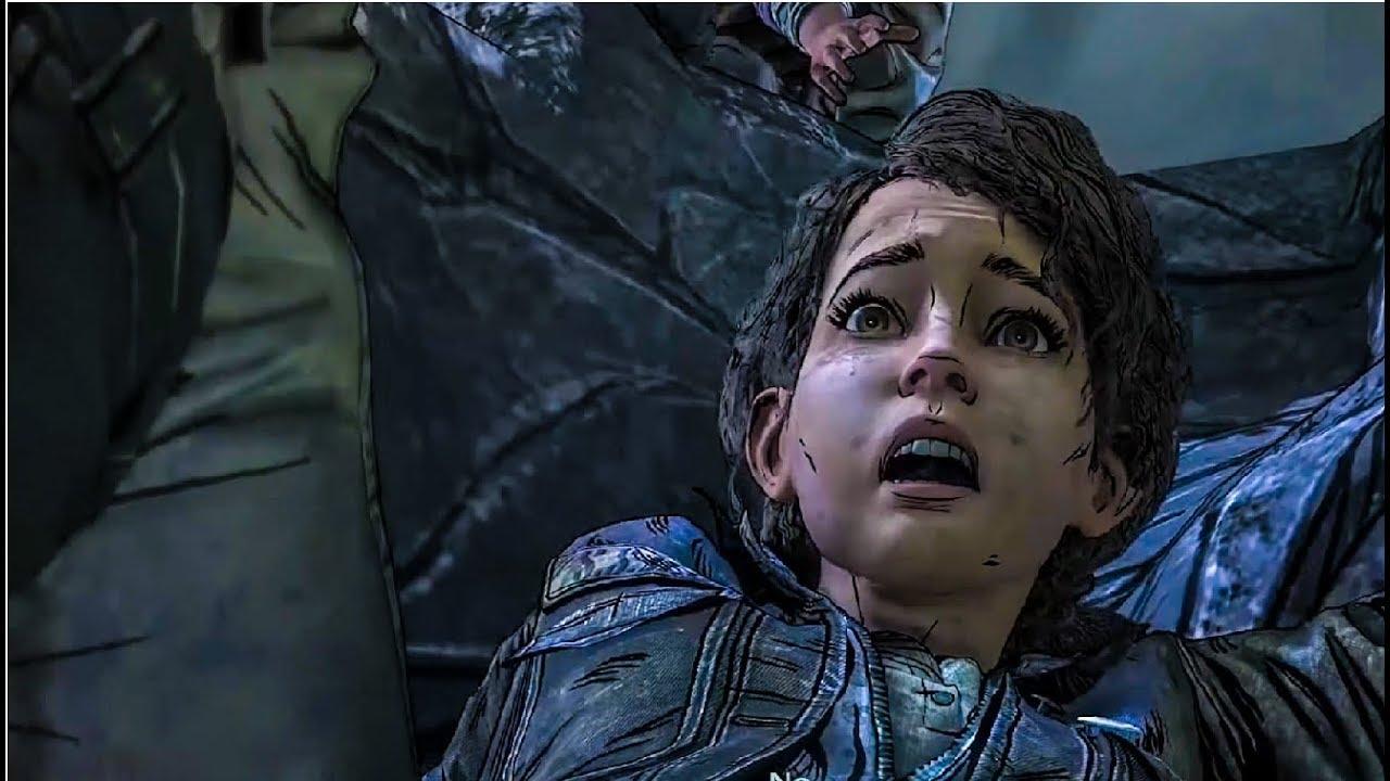 Clementine Bitten By A Zombie The Walking Dead Game Season 4 Episode 4 Final Season