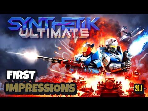 SYNTHETIK Legion Rising Update 26.1 Gameplay  