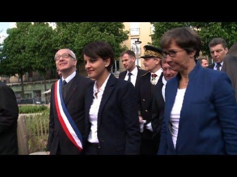 Visite polémique de N. Vallaud-Belkacem à Rouen