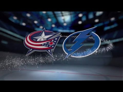Columbus Blue Jackets vs Tampa Bay Lightning - November 04, 2017 | Game Highlights | NHL 2017/18