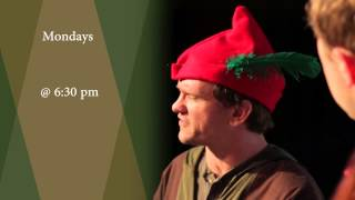 The Commedia Robin Hood with The REP Theatre in Seaside, FL
