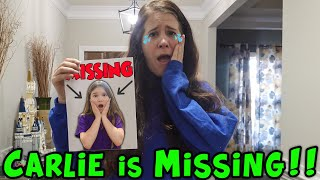 Carlie Is MISSING! Did The Pond Monster Take Carlie?