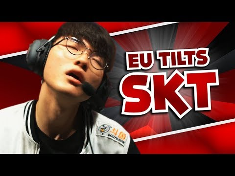 WHEN EU MADE SKT FEAR | WORLDS FUN/FAIL MOMENTS - League Of Legends