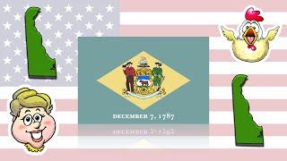 Play-Doh States - Delaware! EWMJ #518