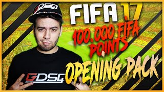 FIFA 17 - 100.000 FIFA POINTS OPENING PACK! Parte 1 [by GaBBo]
