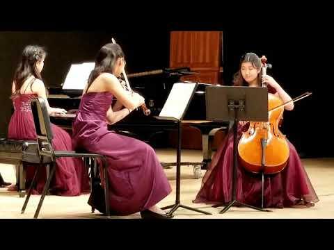 Junior Chamber Music Honors Group Concert-Mendelssohn Piano Trio No. 1
