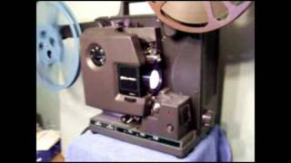 Demo of my USED BELL & HOWELL 16mm Projector Model 2592 AX