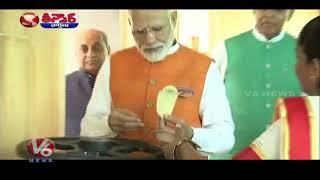 PM Modi Birthday Celebrations | Teenmaar News | V6 Telugu News