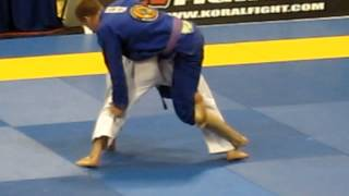 Keenan Cornelius vs Ivan Tomasetti Semi-final purple belt open weight match
