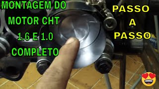Video Montagem parcial do motor CHT 1.6 gasolina parte 2 download MP3, 3GP, MP4, WEBM, AVI, FLV Juni 2018