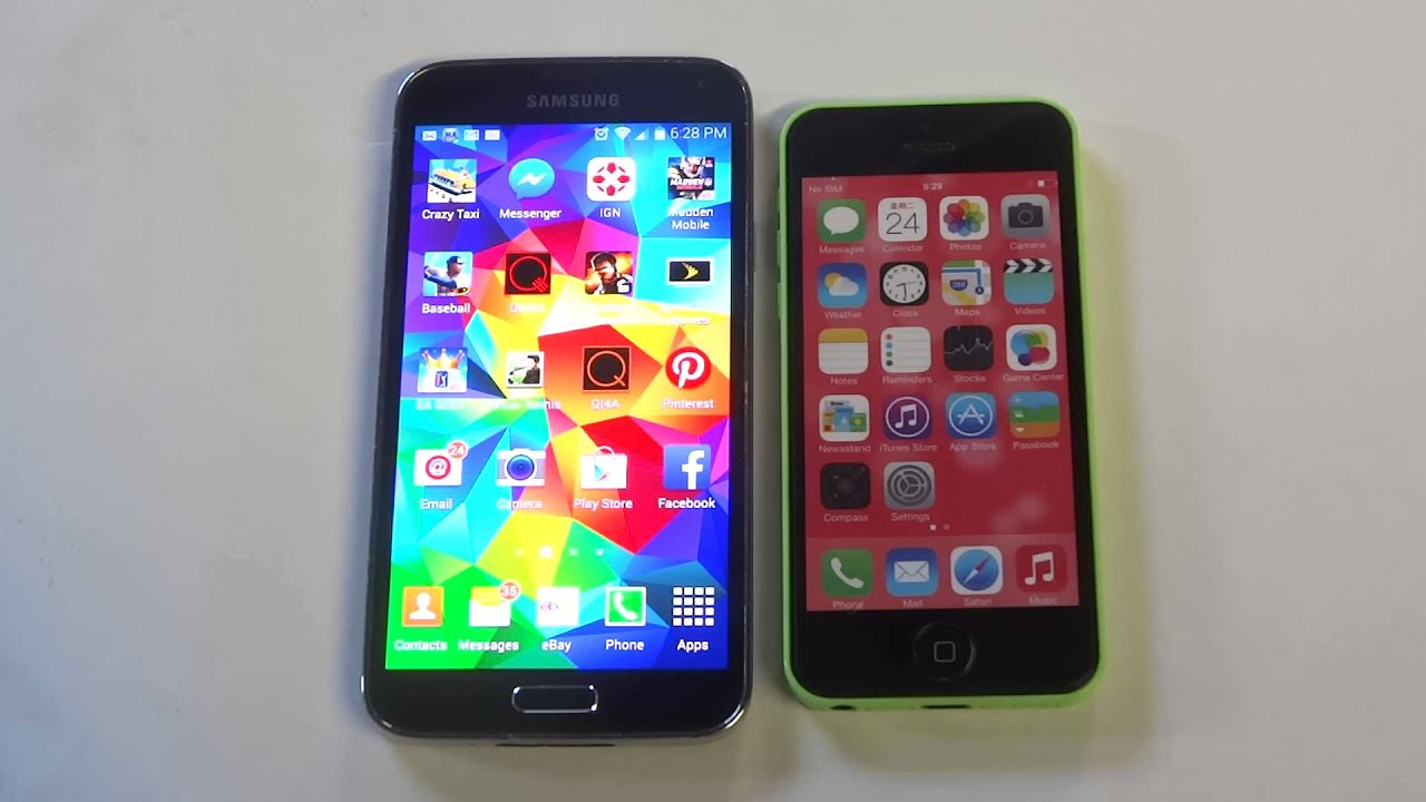 iphone 5 vs galaxy s5 samsung galaxy s5 vs apple iphone 5c fliptroniks 8889