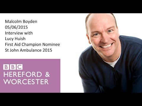 BBC Radio | Lucy Huish: St John Ambulance 2015 First Aid Champion Nominee Interview